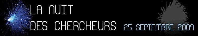 Logo Nuit des chercheurs 2009