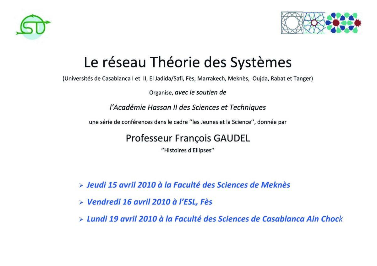 invitation conférences Maroc