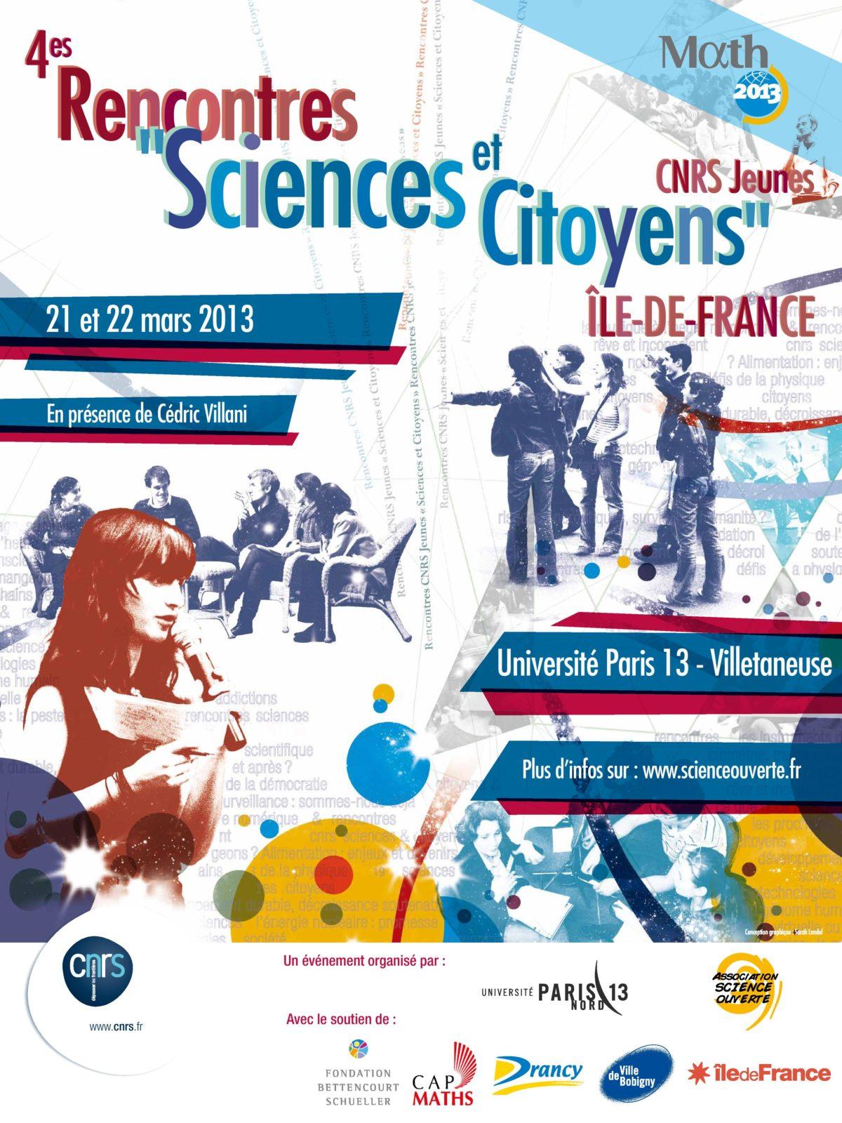 rencontres cnrs jeunes sciences et citoyens
